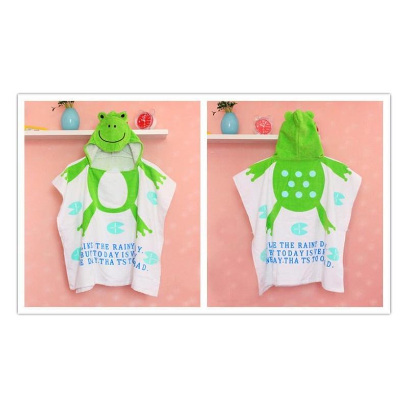 Детский халатик-полотенце: 100% хлопок 199016