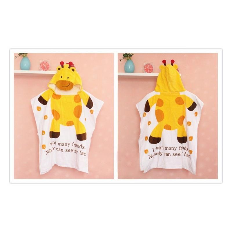 Детский халатик-полотенце: 100% хлопок 199020