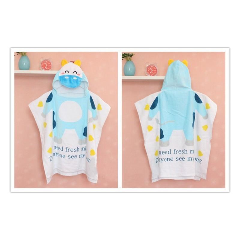 Детский халатик-полотенце: 100% хлопок 199022