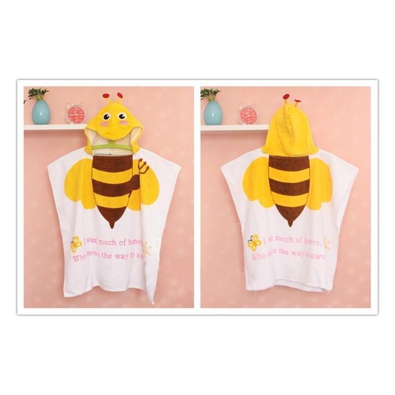 Детский халатик-полотенце: 100% хлопок 199023