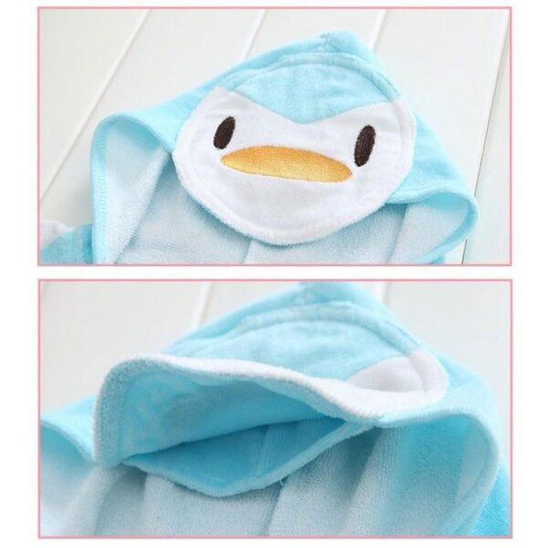 18970 - Детский халатик-полотенце: 100% хлопок