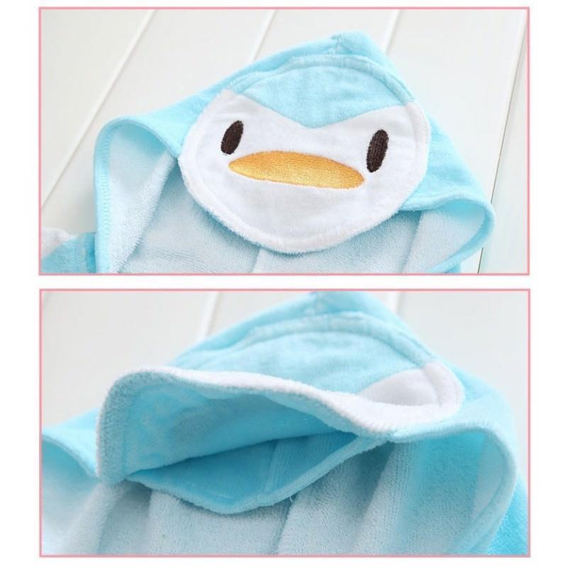 Детский халатик-полотенце: 100% хлопок 199024