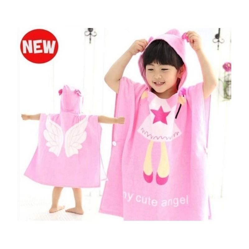 Детский халатик-полотенце: 100% хлопок 199027