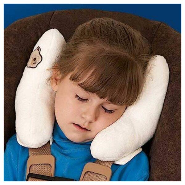 19009 - Детская подушка для поддержки головы BabyCare - для колясок и автомобильных кресел