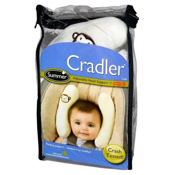 19011 - Детская подушка для поддержки головы BabyCare - для колясок и автомобильных кресел