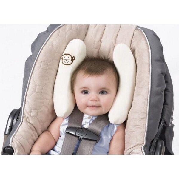 19013 - Детская подушка для поддержки головы BabyCare - для колясок и автомобильных кресел