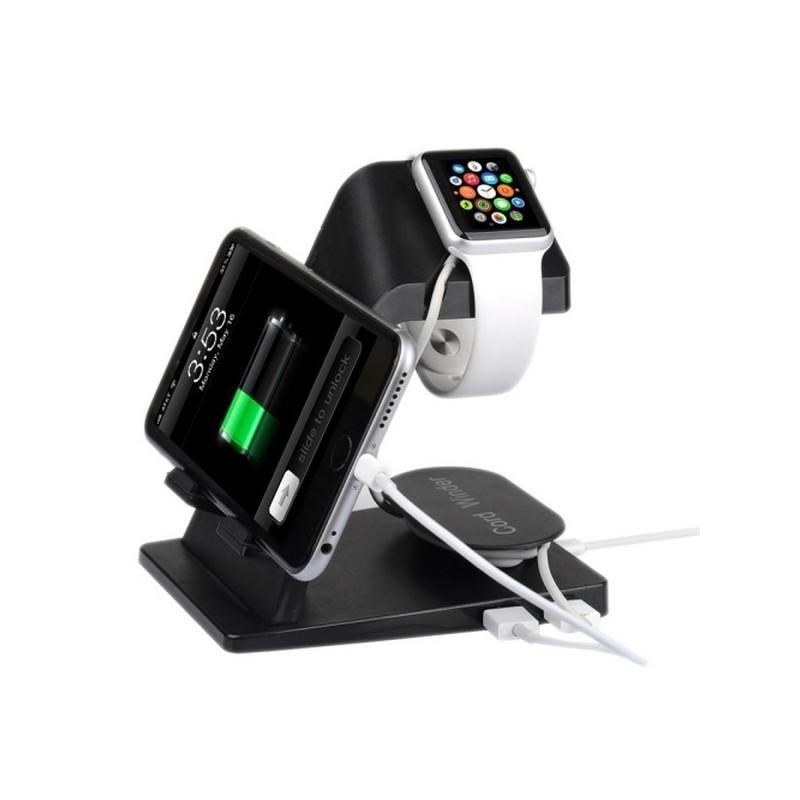 Зарядная станция-подставка для Apple Watch, iPhone и iPad