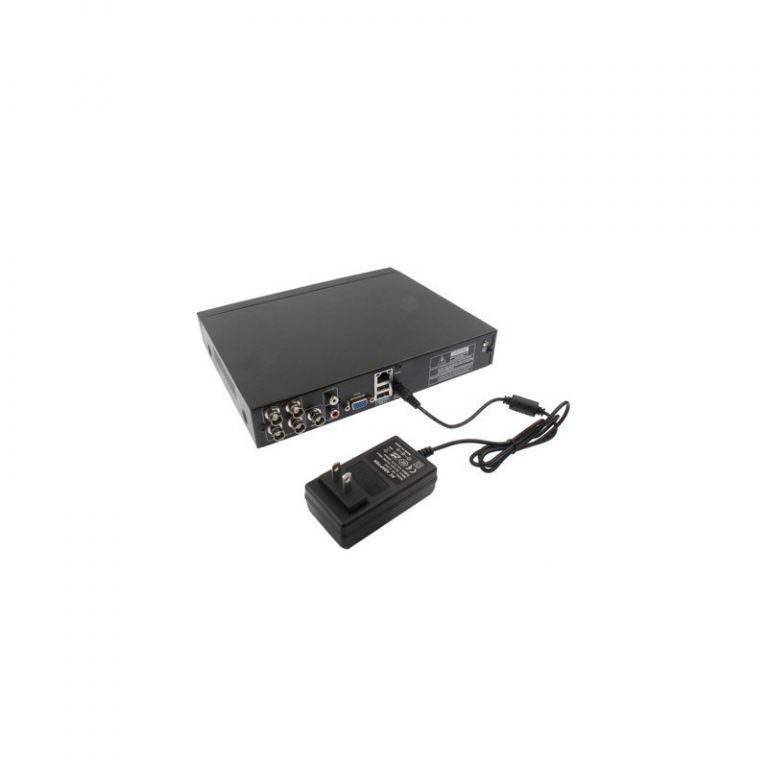 1924 - 4-канальный DVR видеорегистратор PC-2046 – PAL, H.264, поддержка VGA, ТВ-выход, удаленное управление со смартфона