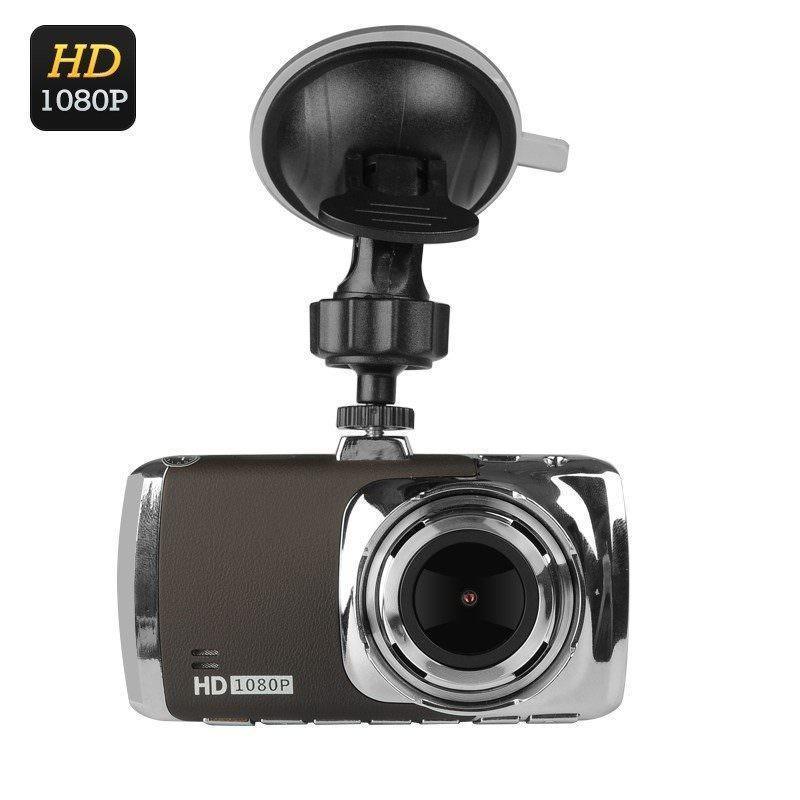 Автомобильный видеорегистратор SuperCam – 1080p, экран 3 дюйма, объектив 170 градусов, G-сенсор, детектор движения, камера 12 МП