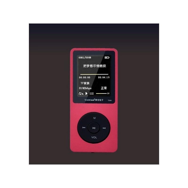 MP3-плеер UnisCom T280 – 1.8-дюймовый экран, поддержка видео и e-Book, 8 Гб памяти, динамик, диктофон, FM-радио 199464