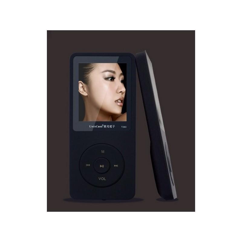 MP3-плеер UnisCom T280 – 1.8-дюймовый экран, поддержка видео и e-Book, 8 Гб памяти, динамик, диктофон, FM-радио 199470