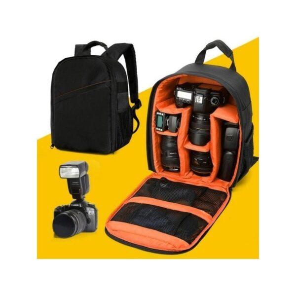 19837 - Водонепроницаемый рюкзак-кейс для камеры и аксессуаров - нейлон, устойчивость к царапинам, 3 цвета