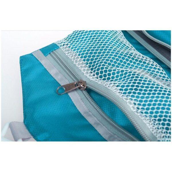 19852 - Дорожный несессер/ сумка-органайзер для банных принадлежностей и косметики: водонепроницаемая ткань, 3 внутренних отделения