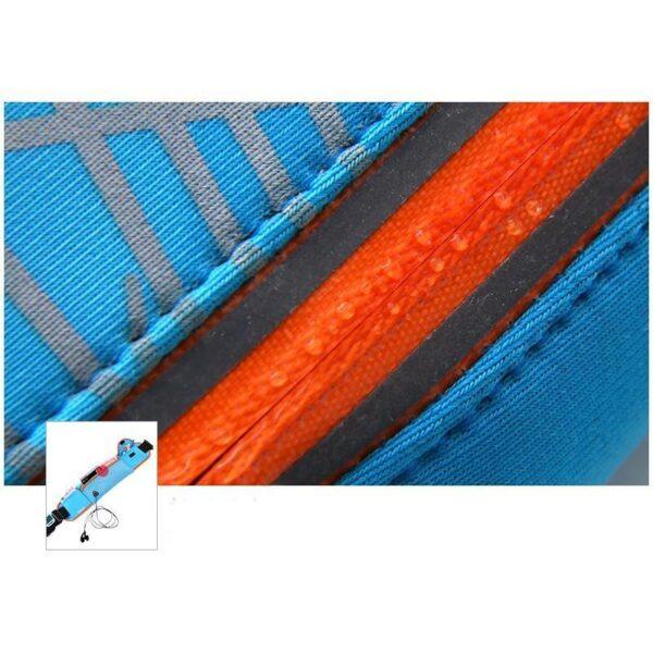 19963 - Спортивная водонепроницаемая сумка-пояс: отверстие для наушников, органайзер для мелких вещей, смартфона