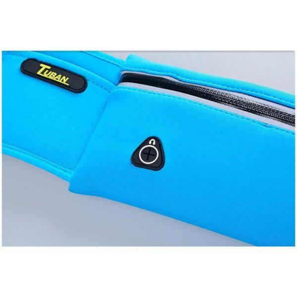 19975 - Спортивная водонепроницаемая сумка-пояс: отверстие для наушников, органайзер для мелких вещей, смартфона