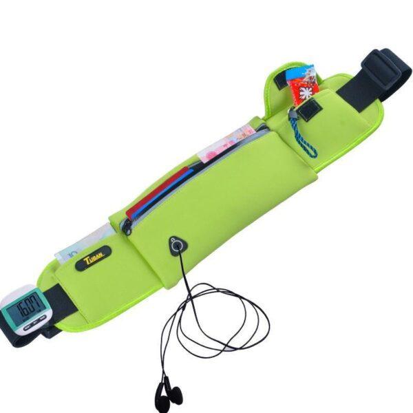 19982 - Спортивная водонепроницаемая сумка-пояс: отверстие для наушников, органайзер для мелких вещей, смартфона