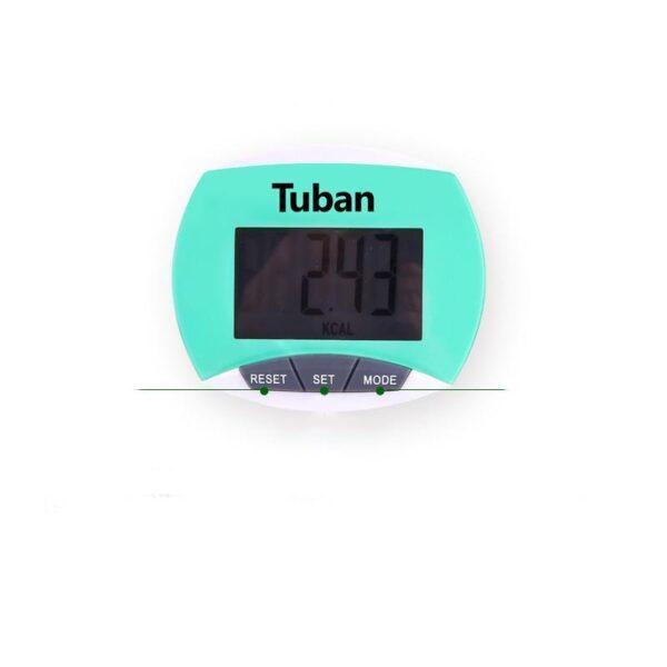 20002 - Цифровой шагомер + счетчик калорий: ЖК-экран, удобный зажим-клипса