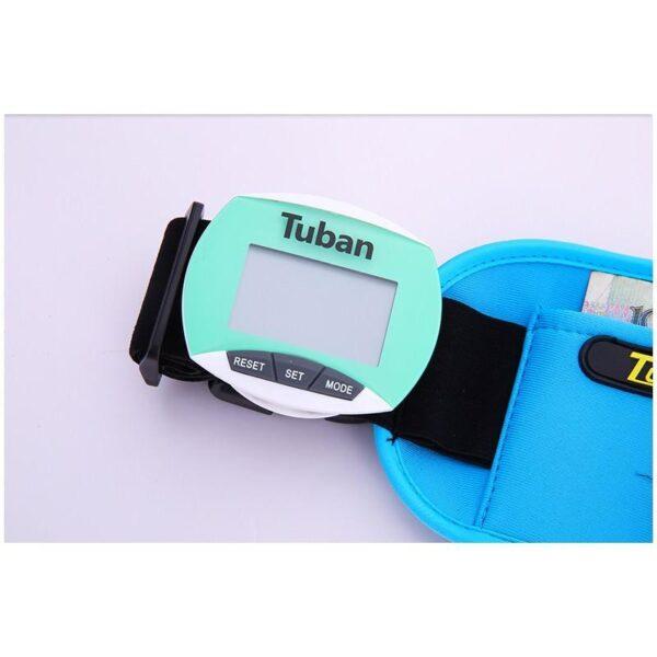 20009 - Цифровой шагомер + счетчик калорий: ЖК-экран, удобный зажим-клипса