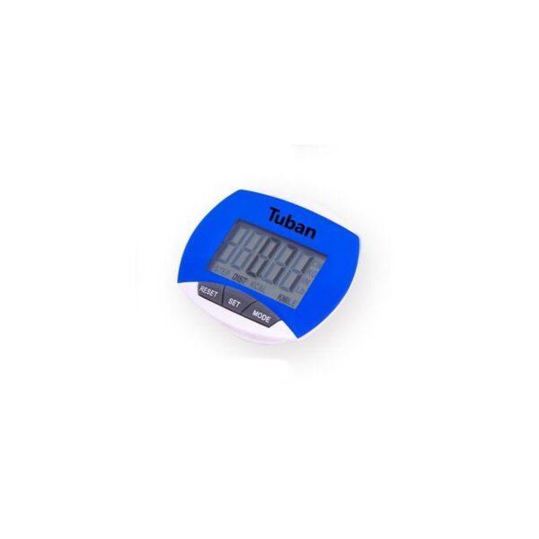 20011 - Цифровой шагомер + счетчик калорий: ЖК-экран, удобный зажим-клипса