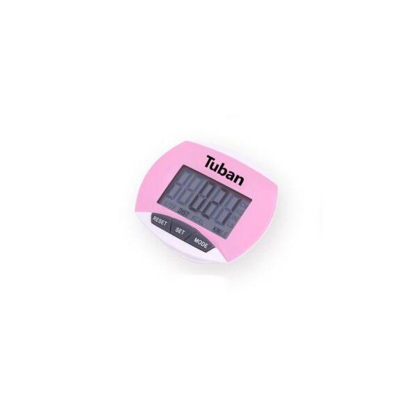 20012 - Цифровой шагомер + счетчик калорий: ЖК-экран, удобный зажим-клипса