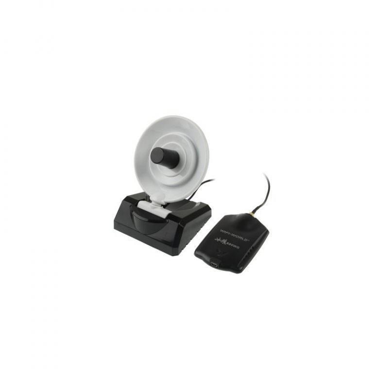2001 - Сетевой Wi-Fi адаптер A-5058, USB 2.0,54 Мбит/с, 8000 мВт, 58 дБи, до 10 км
