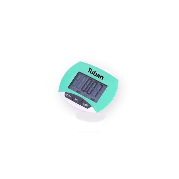 20013 - Цифровой шагомер + счетчик калорий: ЖК-экран, удобный зажим-клипса