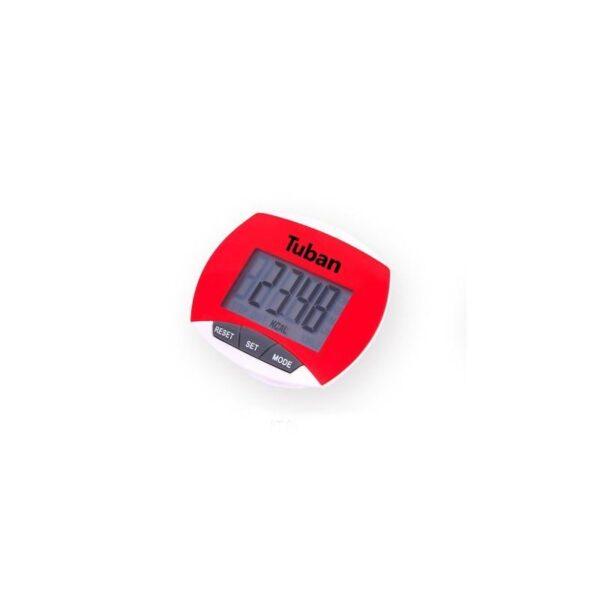 20014 - Цифровой шагомер + счетчик калорий: ЖК-экран, удобный зажим-клипса