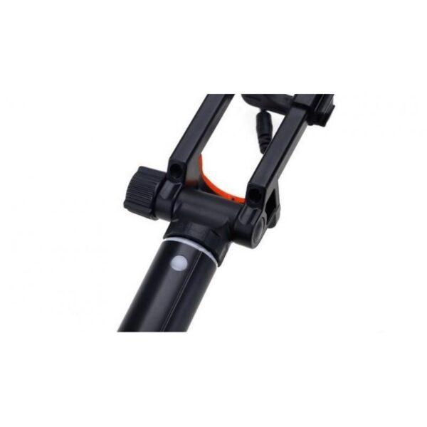 20289 - Мини селфи-палка Yunteng 808 - 2 модели, проводное и Bluetooth подключение, 20-80 см, крепление 5.5-8.5 см