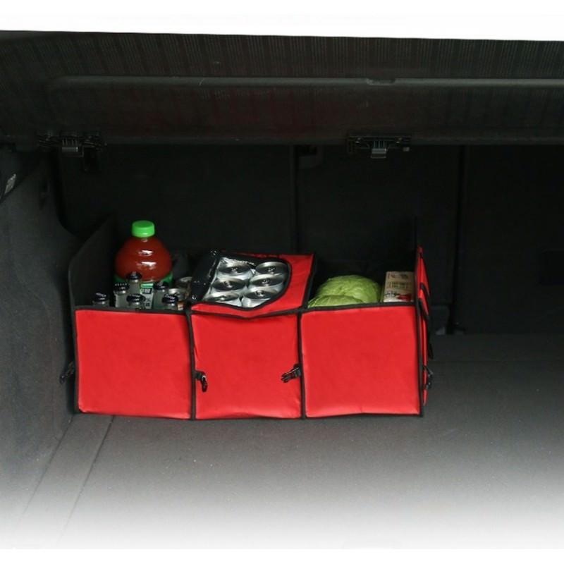 Автомобильный ящик-трансформер для перевозки вещей, еды и напитков 200130