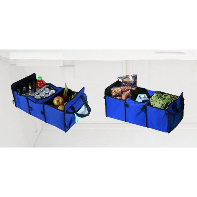 Автомобильный ящик-трансформер для перевозки вещей, еды и напитков