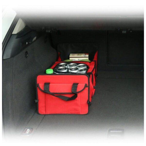 20301 - Автомобильный ящик-трансформер для перевозки вещей, еды и напитков