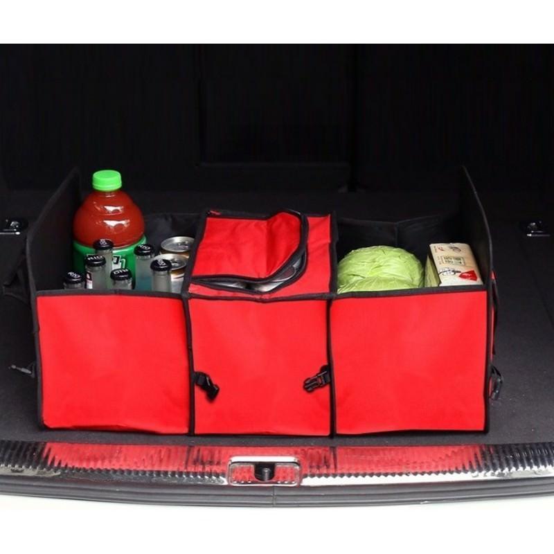 20303 - Автомобильный ящик-трансформер для перевозки вещей, еды и напитков