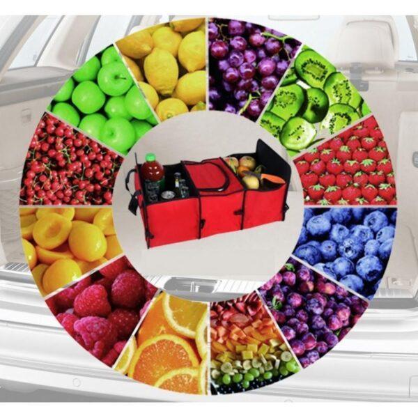20304 - Автомобильный ящик-трансформер для перевозки вещей, еды и напитков