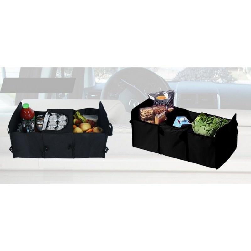 Автомобильный ящик-трансформер для перевозки вещей, еды и напитков 200136