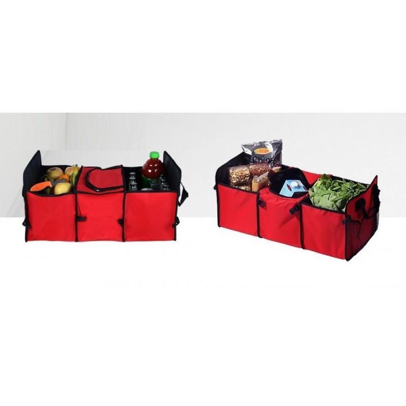 Автомобильный ящик-трансформер для перевозки вещей, еды и напитков 200137