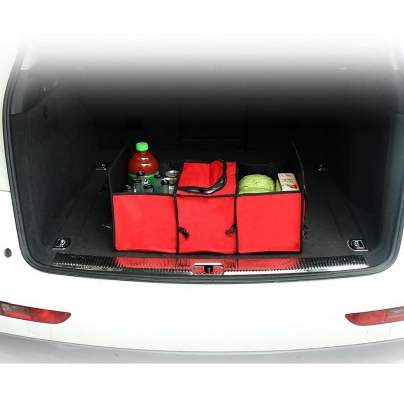 Автомобильный ящик-трансформер для перевозки вещей, еды и напитков 200138