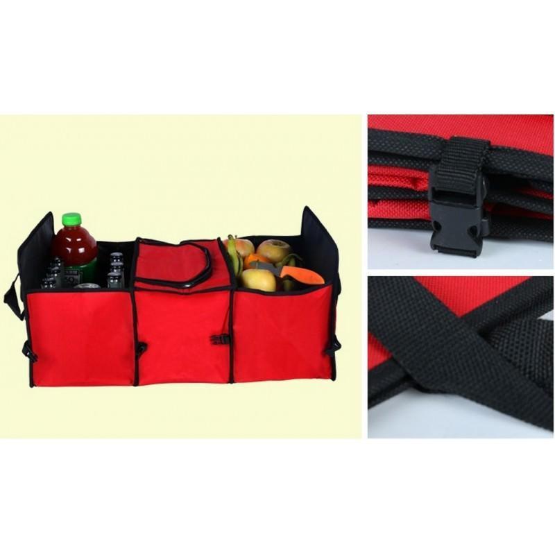 Автомобильный ящик-трансформер для перевозки вещей, еды и напитков 200140