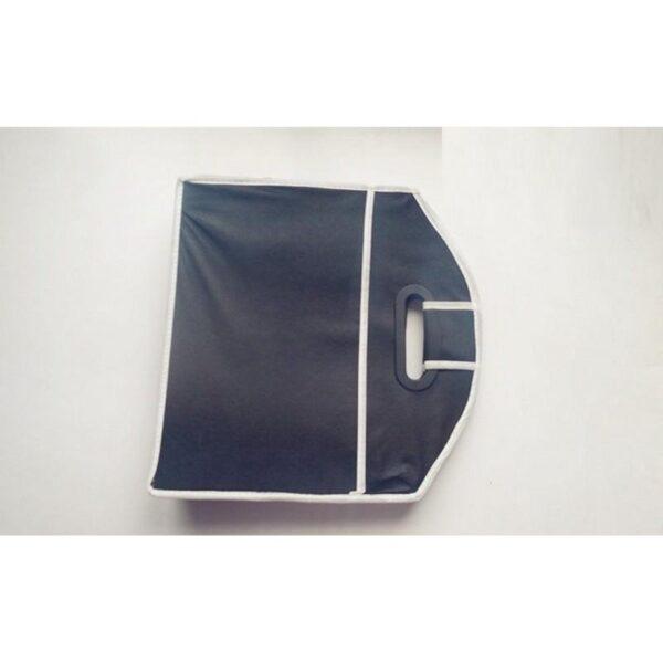 20315 - Ящик для хранения вещей в багажнике автомобиля - нетканый текстиль, 3 отделения, крепкие ручки
