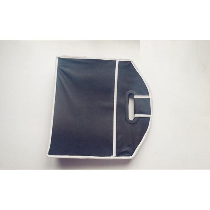 Ящик для хранения вещей в багажнике автомобиля – нетканый текстиль, 3 отделения, крепкие ручки 200146