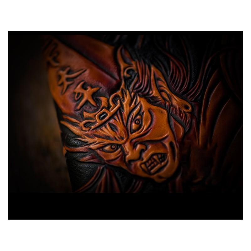 Портмоне ручной работы Kongery Demonic Shade: кожа первый слой 200153