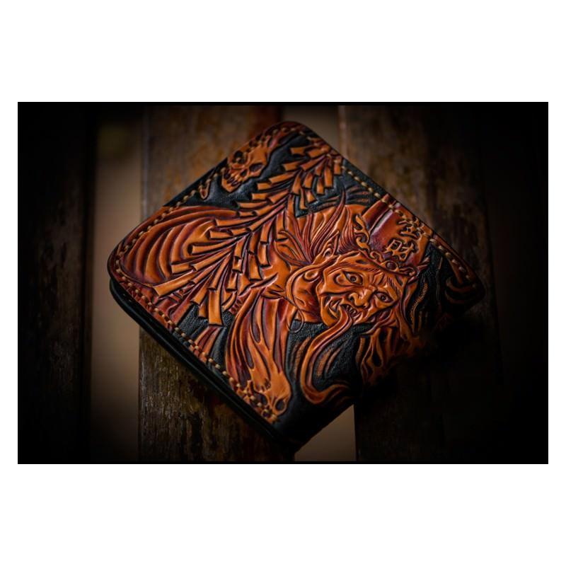 Портмоне ручной работы Kongery Demonic Shade: кожа первый слой 200162