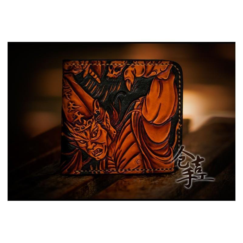 Портмоне ручной работы Kongery Demonic Shade: кожа первый слой 200167