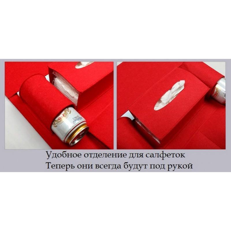 Чехол-сумка для автокресла (комплект из 2-х штук) – ассортимент цветов, универсальный размер, 6 функциональных отделений 200188