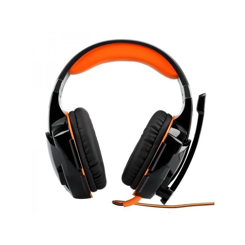 Игровые наушники Kotion Each G2000 Pro Gaming (Original) с микрофоном, шумоподавление, кабель 2.2 м, светодиодная подсветка 184994
