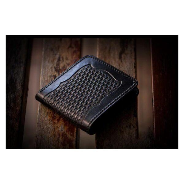 20367 - Портмоне-кошелек ручной работы Kongery Horseshoe Luck: кожа первый слой