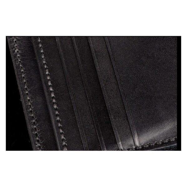 20369 - Портмоне-кошелек ручной работы Kongery Horseshoe Luck: кожа первый слой