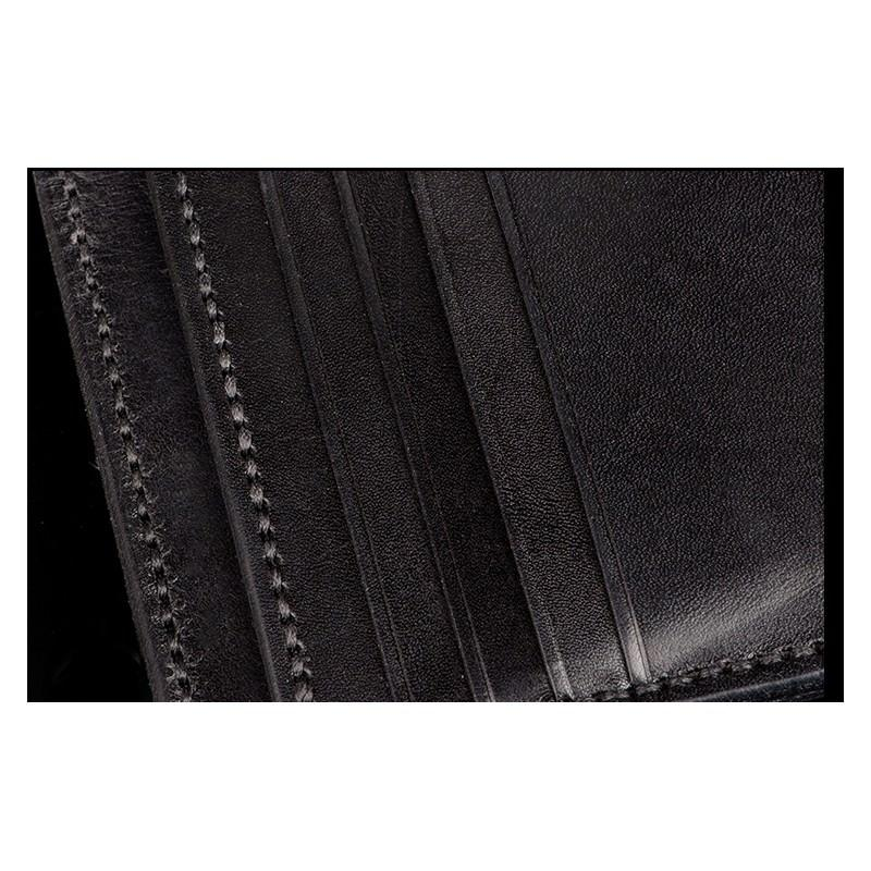 Портмоне-кошелек ручной работы Kongery Horseshoe Luck: кожа первый слой 200193