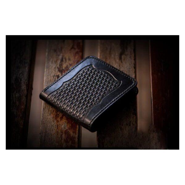 20375 - Портмоне-кошелек ручной работы Kongery Horseshoe Luck: кожа первый слой