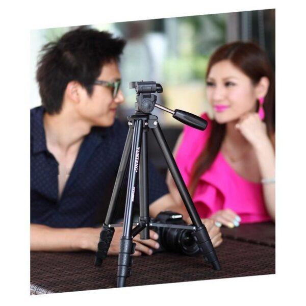 20386 - Штатив Yunteng 5208 для смартфона, планшета и фотокамеры с Bluetooth-кнопкой (43-125 см)