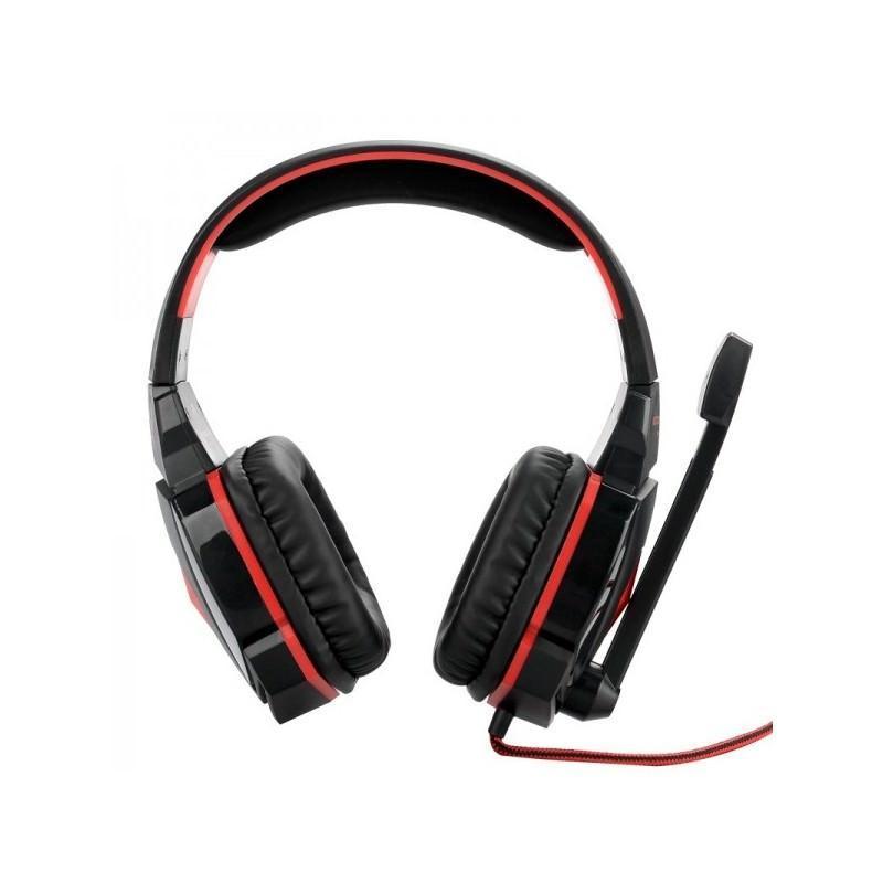 Игровые наушники Flymemo Kotion Each G4000 Pro Gaming с микрофоном, шумоподавление, подсветка, 2.2 м. 185041